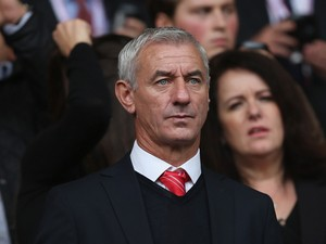 Ex Liverpool striker Ian Rush during the Barclays Premier League match between Liverpool and Crystal Palace at Anfield on October 5, 2013
