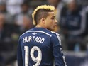 Erik Hurtado #19 of the Vancouver Whitecaps FC during their MLS game against the Colorado Rapids April 5, 2014