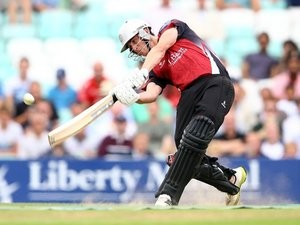 Wicketkeeper Craig Kieswetter in action for Somerset on August 06, 2013.