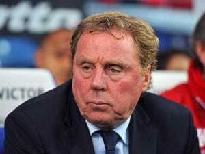 Harry Redknapp Manager of Queens Park Rangers ahead of the Sky Bet Championship Play Off Semi Final second leg match between Queens Park Rangers and Wigan Athletic at Loftus Road on May 12, 2014
