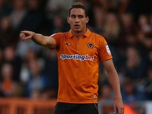 Georg Margreitter for Wolverhampton Wanderers in 2012