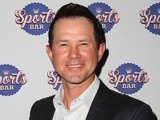 Ricky Ponting arrives at the Crown Sports Bar Launch at Crown Casino on March 6, 2014