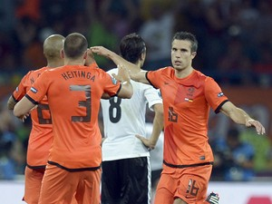 Robin van Persie: 'Netherlands can win World Cup'