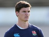 Freddie Burns looks on during the England training session held at Ponsonby Rugby Club on June 12, 2014