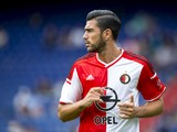 Feyenoord's Italian forward Graziano Pelle takes part in the first training session of the Feyenoord Rotterdam team in Rotterdam on June 25, 2014