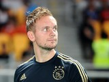 Siem De Jong of AFC Ajax walks into the field during the international friendly match between Perija Jakarta and AFC Ajax on May 11, 2014
