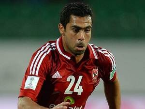 Egyptian player Ahmed Fathi in December 2013