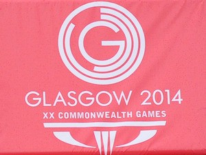 A picture of the Glasgow 2014 Commonwealth Games logo on June 7, 2014