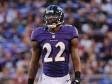 Cornerback Jimmy Smith #22 of the Baltimore Ravens lines up during a preseason game against the Atlanta Falcons at M&T Bank Stadium on August 15, 2013