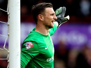 Declan Rudd of Preston in action during the Sky Bet League One match between Brentford and Preston North End at Griffin Park on April 18, 2014