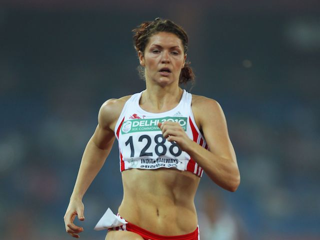 Kelly Massey at the 2010 Commonwealth Games