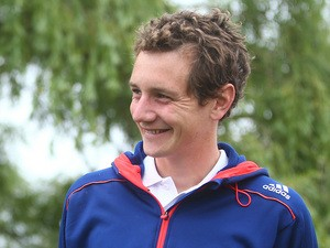 Alistair Brownlee attends the MacMillan Brownlee Tri South at Petworth House on June 15, 2014