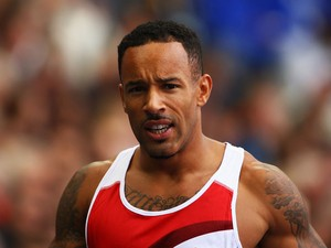 James Ellington of England looks on after he competes in the Men's 200 metres heats at Hampden Park during day seven of the Glasgow 2014 Commonwealth Games on July 30, 2014
