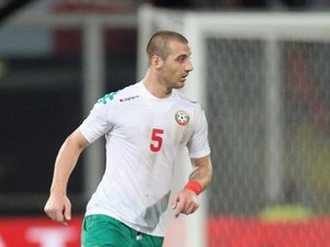 Nikolay Bodurov of Bulgaria during the FIFA 2014 World Cup Qualifier group B match between Italy and Bulgaria at Renzo Barbera Stadium on September 6, 2013