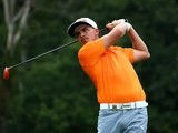 Rickie Fowler during the final round of the US PGA on August 10, 2014