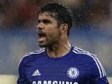 Diego Costa of Chelsea during the pre-season friendly match between Chelsea and Real Sociedad at Stamford Bridge on August 12, 2014