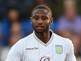 Janoi Donacien of Aston Villa in action during the Pre Season Friendly between Cheterfield and Aston Villa at Proact Stadium on July 30, 2014
