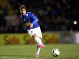 Lucas Silva #16 of Cruzeiro in action during a match between Criciuma and Cruzeiro as part of Campeonato Brasileiro 2014 at Heriberto Hulse Stadium on August 9, 2014