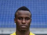Sochaux Togolese forward Razak Boukari poses on September 19, 2013