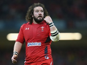 Adam Jones of Wales during the RBS Six Nations match between Wales and Italy at the Millenium Stadium on February 1, 2014