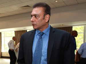 Ravi Shastri during the ICC Cricket Committee meeting at Lord's Cricket Ground on May 30, 2012