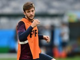 England's midfielder Adam Lallana attends a training session at the Mineirao Stadium in Belo Horizonte on June 23, 2014