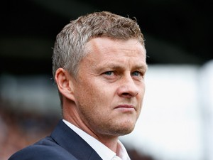 Cardiff City manager Ole Gunnar Solskjaer looks on before kick off during the Sky Bet Championship match between Fulham and Cardiff City at Craven Cottage on August 30, 2014
