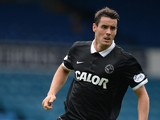 Brian Graham of Dundee United during a pre-season friendly match between Leeds United and Dundee United at Elland Road on August 2, 2014