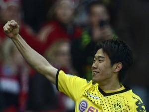Dortmund's Japanese forward Shinji Kagawa during the German cup ' DFB Pokal ' final football match Borussia Dortmund vs Bayern Munich  on May 12, 2012