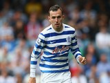 Jordon Mutch of Queens Park Rangers in action during the Barclays Premier League match between Queens Park Rangers and Sunderland at Loftus Road on August 30, 2014