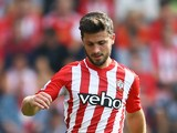 Shane Long of Southampton during the Barclays Premier League match between Southampton and Newcastle United at St Mary's Stadium on September 13, 2014