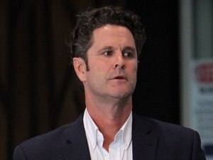 Former New Zealand cricketer Chris Cairns arrives at Auckland Airport in Auckland on May 30, 2014