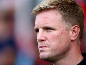 Bournemouth manager Eddie Howe during the Pre Season Friendly match between AFC Bournemouth and Southampton at The Goldsands Stadium on July 25, 2014