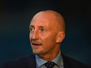 Ian Holloway of Millwall looks on during the Sky Bet Championship match between Sheffield Wednesday and Millwall at Hillsborough Stadium on August 19, 2014