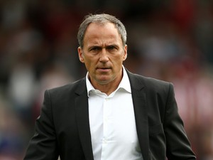 Darko Milanic the new manager of Leeds United looks on prior to the start of the Sky Bet Championship match between Brentford and Leeds United at Griffin Park on September 27, 2014