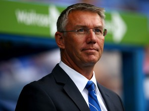 Nigel Adkins manager of Reading prior to the Sky Bet Championship match between Reading and Fulham at Madejski Stadium on September 13, 2014
