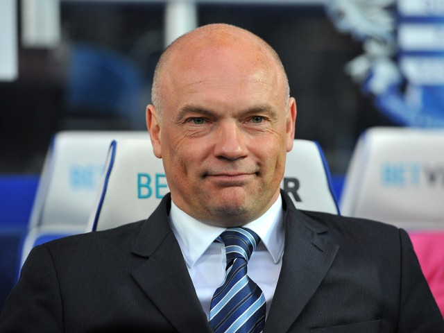 Uwe Rosler Manager of Wigan ahead of the Sky Bet Championship Play Off Semi Final second leg match between Queens Park Rangers and Wigan Athletic at Loftus Road on May 12, 2014