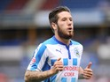 Jacob Butterfield of Huddersfield Charlton during Sky Bet Championship match between Huddersfield Town and Charlton Athletic at Galpharm Stadium on August 23, 2014