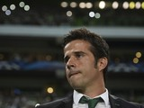 Sporting's head coach Marco Silva looks on before the UEFA Champions League Group G football match Sporting CP vs Chelsea FC at Alvalade XXI stadium in Lisbon on September 30, 2014