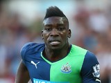 Sammy Ameobi of Newcastle United during the Barclays Premier League match between Swansea City and Newcastle United at the Liberty Stadium on October 4, 2014