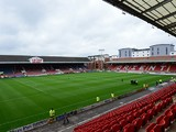 A general view of the interior of Brisbane Road before the Sky Bet League One match between Leyton Orient and Port Vale at Brisbane Road on September 14, 2013