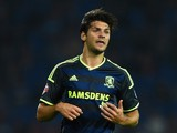 George Friend of Middlesbrough in action during the Sky Bet Championship match between Cardiff City and Middlesbrough at Cardiff City Stadium on September 16, 2014