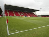 A general view of Gretys Road home of Crewe Alexandra prior to the Coca Cola League One match between Crewe Alexandra and Northampton Town at Gresty Road on August 5, 2006