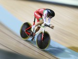 Ciara Horne of Wales competes in the Women's 300m Individual Pursuit Qualifying at Sir Chris Hoy Velodrome during day two of the Glasgow 2014 Commonwealth Games on July 25, 2014