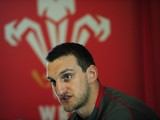 Wales captain Sam Warburton faces the media at the team announcement, ahead of their RBS six nations match against England on sunday, at the Vale Hotel on March 4, 2014
