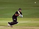 Shane Watson of Australia bats during game one of the International Twenty20 Series between Australia and South Africa at Adelaide Oval on November 5, 2014
