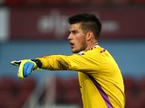 Raphael Spiegel of West Ham in action during the 2015 Barclays U21 Premier League International Cup between West Ham United U21 and PSV Eindhoven U21 at Upton Park on November 19, 2014