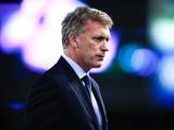 Head coach David Moyes of Real Sociedad looks on during the La Liga match between Real Socided and Elche FC at Estadio Anoeta on November 28, 2014