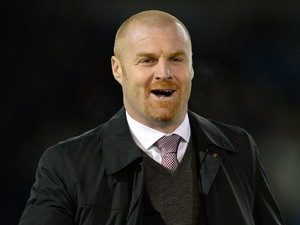 Burnley's English manager Sean Dyche arrives ahead of the English Premier League football match between Burnley and Newcastle United at Turf Moor in Burnley, north west England, on December 2, 2014
