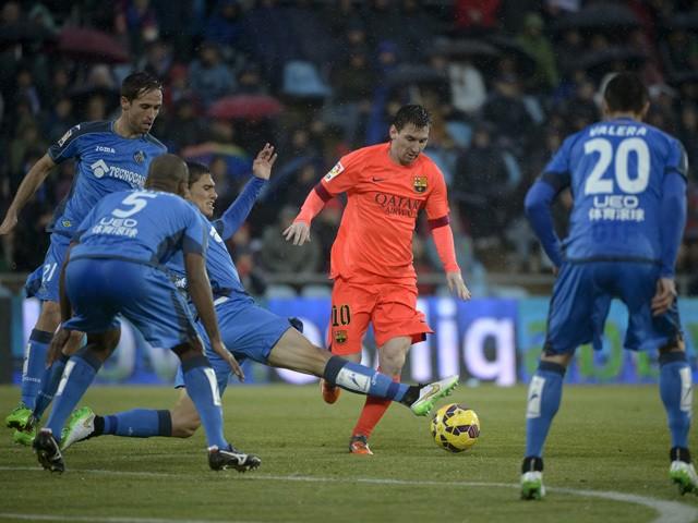 Getafe 0 - 0 Barcelona